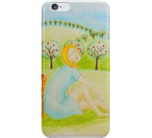Apple girl iPhone Case/Skin