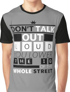 DETECTIVE QUOTES Graphic T-Shirt