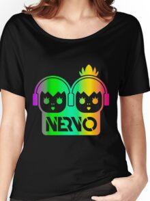 NERVO RAINBOW Women's Relaxed Fit T-Shirt