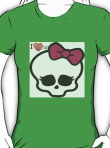 love for monster high T-Shirt