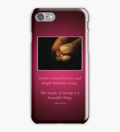 Spring Beginnings iPhone Case/Skin