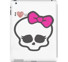 love for monster high iPad Case/Skin