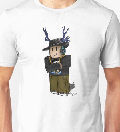 Deer Fedora Blox Unisex T-Shirt