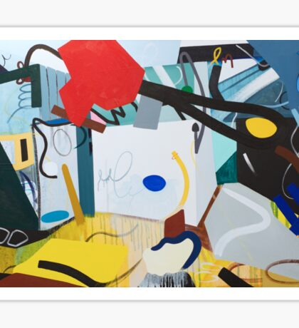 Abstract Interior #6 Sticker