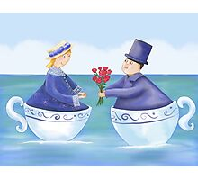 Love in a Teacup Photographic Print
