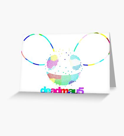DEADMAU 5 RAINBOW Greeting Card