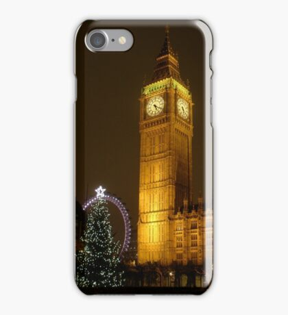 Big Ben ticks Goodnight iPhone Case/Skin