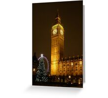 Big Ben ticks Goodnight Greeting Card
