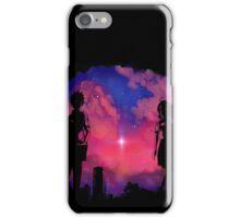 Anime sunset iPhone Case/Skin