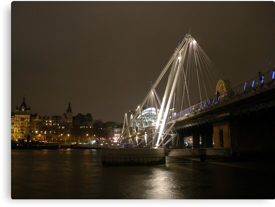 Hungerford Bridge by Mui-Ling Teh