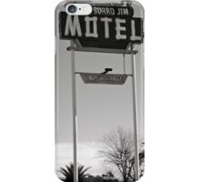 Burro Jim Motel iPhone Case/Skin