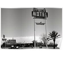 Burro Jim Motel Poster