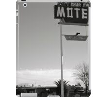 Burro Jim Motel iPad Case/Skin