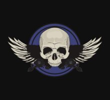 Wing Skull - PURPLE T-Shirt