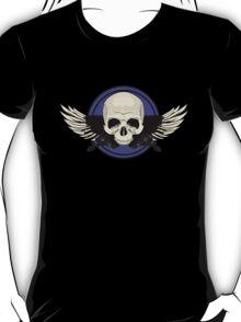 Wing Skull - PURPLE T-Shirt