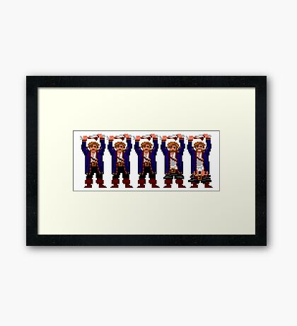 Guybrush Pants Framed Print