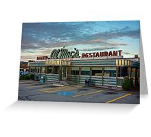 Al Mac's Diner-Restaurant Greeting Card