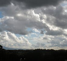 Storm Clouds over the Aventine by Mui-Ling Teh