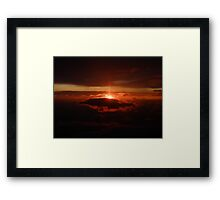 Evening Framed Print