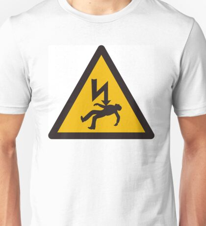 Electric danger Unisex T-Shirt