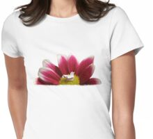 Flower Nest Womens Fitted T-Shirt