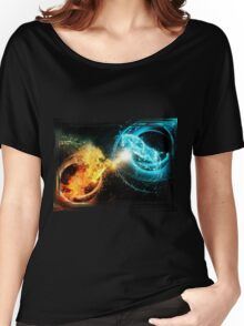 Water and fire horses Women's Relaxed Fit T-Shirt