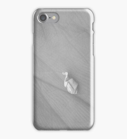 Penguin in a Snow Storm iPhone Case/Skin