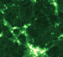 The Cosmic Web (Green) by icrar