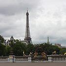 Eiffel tower by Elena Skvortsova