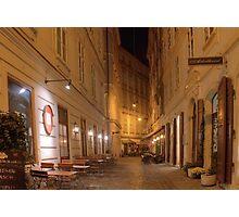 Blumenstockgasse, Vienna Austria Photographic Print