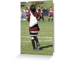 Loot After The Soccer Game Greeting Card
