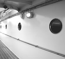 Portholes, Royal Yacht Britannia, Edinburgh by Robert Steadman
