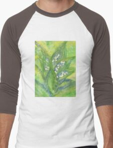 Lily of the valley Men's Baseball ¾ T-Shirt