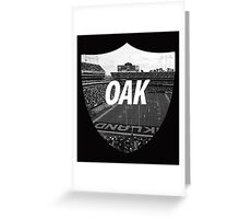 Oakland, California Greeting Card