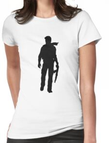 Nathan Drake (Uncharted) Womens Fitted T-Shirt