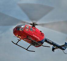 MBB BO-105 Air Ambulance  by © Steve H Clark Photography