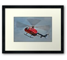MBB BO-105 Air Ambulance  Framed Print