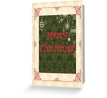 """Merry Christmas"" Card for Your Family and Friends Greeting Card"