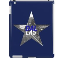 Dallas Texas iPad Case/Skin