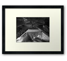 Bubbly Planes Framed Print