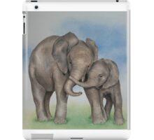 me and my mom. iPad Case/Skin
