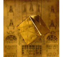 Floating Gold Photographic Print