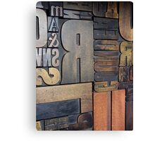 Print Blocks Canvas Print