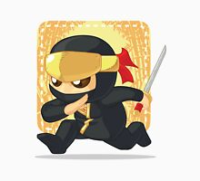 Little Ninja Holding Japanese Sword Unisex T-Shirt