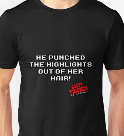 Highlights out of her hair Unisex T-Shirt