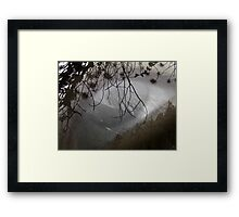 Seeing the Mountains Framed Print