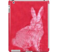 White Rabbit (Monochromatic Hue Series) iPad Case/Skin