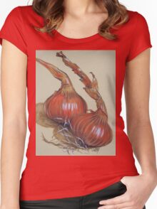 Spanish Onions Women's Fitted Scoop T-Shirt