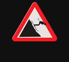 UK warning sign Downhill skier /off piste Hoodie