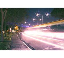 Light streak  Long exposure  by robertomusictv